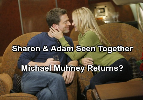 The Young and the Restless Spoilers: Sharon and Adam Seen Together – Social Media Play Works