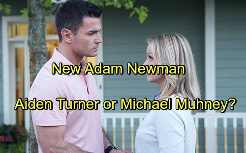 'The Young and the Restless' Spoilers: Will The New Adam Newman Be Michael Muhney or Aiden Turner - Replacing Justin Hartley