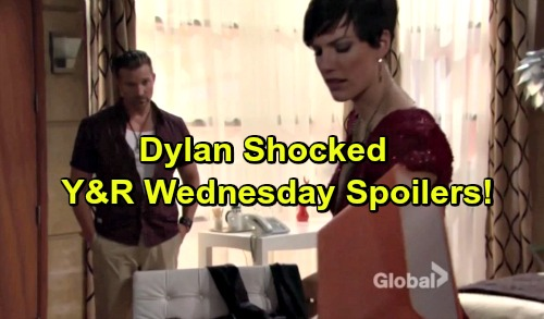 The Young and the Restless Spoilers: Dylan Gets a Shock, Plays It Cool – Panic Sets in for Sharon
