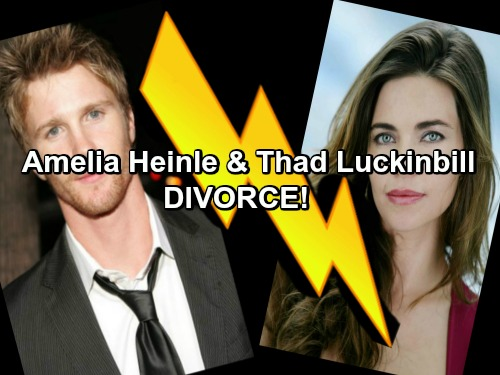 The Young and the Restless Spoilers: Ameila Heinle and Thad Luckinbill Divorce – Irreconcilable Differences Cause Split