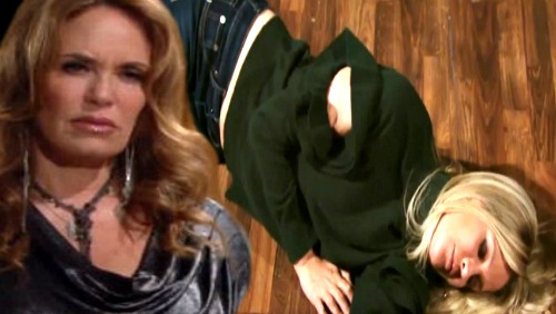 The Young and the Restless Spoilers: Chelsea's Mom Knocks Sharon Out - Anita Tries To Save Daughter