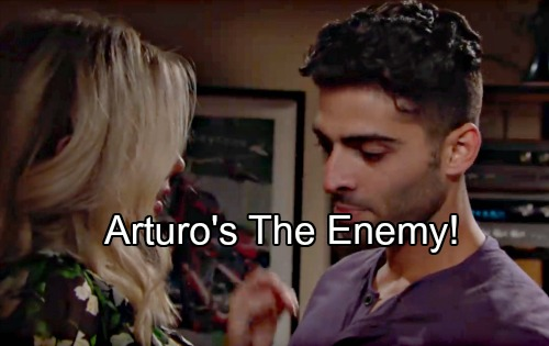 The Young and the Restless Spoilers: Arturo Behind J.T. Scare, Abby's Falling for the Enemy – Newman Hacking Shockers Exposed