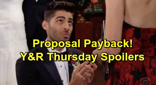 The Young and the Restless Spoilers: Thursday, January 24 – Arturo's Proposal Payback – Phyllis Enters Dangerous Territory