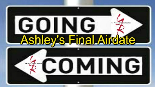The Young and the Restless Spoilers: Comings and Goings – Ashley's Final Airdate, Major Exit Details Revealed – Mac's Return