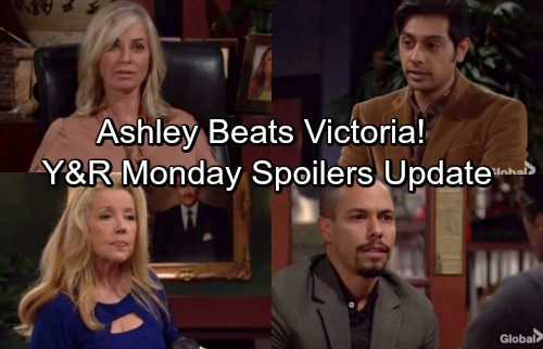 The Young and the Restless Spoilers: Monday, December 11 Update - Scott and Abby Caught Kissing – Ashley Defeats Victoria