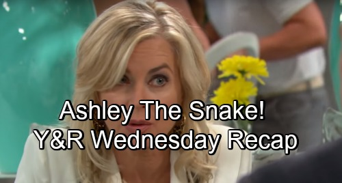 The Young and the Restless Spoilers and Recap for Wednesday, August 22: Kyle The Rat, Ashley The Snake and Billy The Kid
