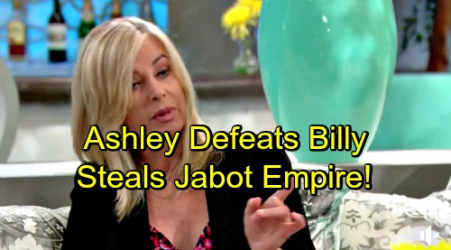 The Young and the Restless Spoilers: Ashley Steals Jabot Empire from Billy – Abbott War Brings Exploding Secrets and Shockers