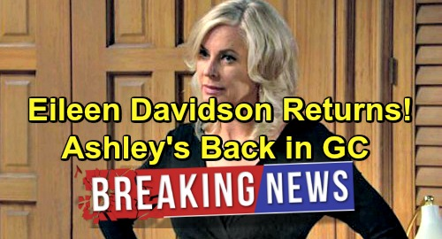The Young and the Restless Spoilers: Eileen Davidson Returns to Y&R - Ashley Abbott Back For Surprise Visit