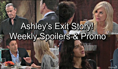 The Young and the Restless Spoilers: Hot Y&R Promo Week of September 17 – Jack and Victor's Brother Showdown – Ashley's Exit Story
