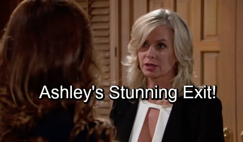 The Young and the Restless Spoilers: Ashley's Bold Power Play Sets Up Stunning Y&R Exit