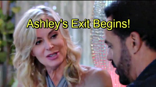 The Young and the Restless Spoilers: Ashley and Neil Connect in Y&R Exit Story – Eileen Davidson's Write-Out Begins