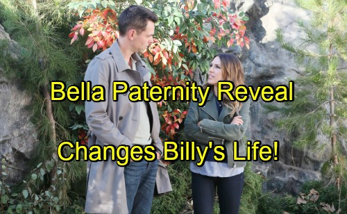 The Young and the Restless Spoilers: Bella Paternity Reveal Changes Billy's Life – Embraces Father Role With Discovered Daughter