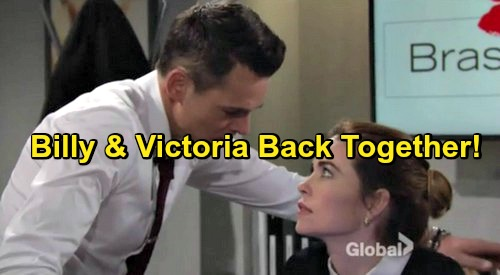 The Young and the Restless Spoilers: Victoria Drawn Back To Billy Again - Dysfunctional Pattern Reignited