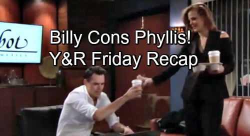 The Young and the Restless Spoilers: Friday, November 30 – Devon's Shocking Medical Crisis – Billy Reels Phyllis In – Mia's Risky Plan