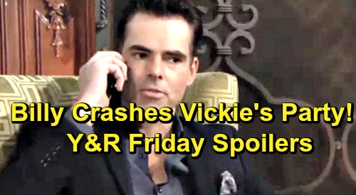 The Young and the Restless Spoilers: Friday, April 5 – Billy Crashes Victoria's Vegas Party – Phyllis Bonds with Jack – Lauren Plays Dirty