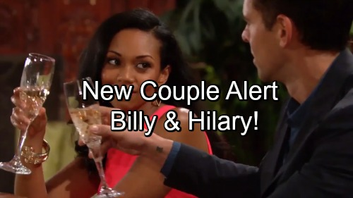 'The Young and the Restless' Spoilers: Super Couple Mash-up Coming – Billy and Hilary Make Love Connection