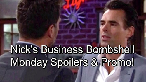The Young and the Restless Spoilers: Monday, August 20 – Jack's Sneaky Power Play – Nick's Business Bombshell – Kyle Plots
