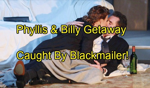 'The Young and the Restless' Spoilers: Billy and Phyllis Caught By Blackmailer On Aldulterous Cheating Getaway?
