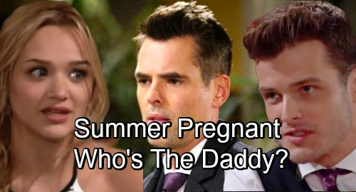 The Young and the Restless Spoilers: Summer's Pregnant - Billy or Kyle The Baby Daddy?