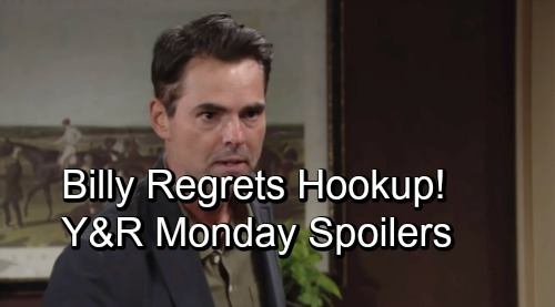 The Young and the Restless Spoilers: Monday, October 8 – Ashley's Celebration Spells Trouble - Billy Regrets Summer Hookup