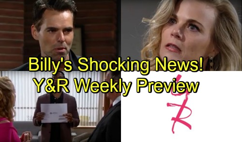 The Young and the Restless Spoilers: Shocking Promo September 24-28 – Victor and Jack Brother Shock – Billy's Bomb Rocks Phyllis