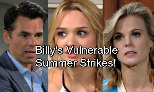 The Young and the Restless Spoilers: First Part of Summer's Plan Works – Philly Split, Now Billy's Vulnerable