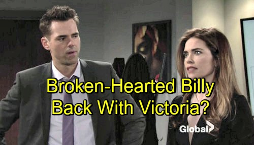 The Young and the Restless Spoilers: Billy Brokenhearted After Phyllis' Secrets Explode – Victoria Reunion on the Horizon?