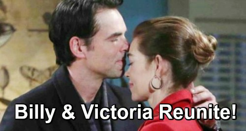 The Young and the Restless Spoilers: Billy and Victoria Turn To Each Other For The Holidays - Will They Reunite?