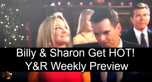 The Young and the Restless Spoilers: Week of November 12 Preview – Billy and Sharon Get Steamy, Phick Fumes at Launch Party