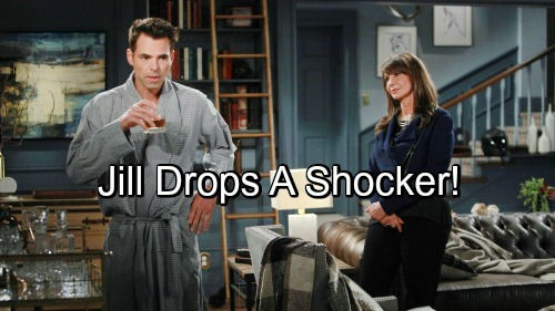The Young and the Restless Spoilers: Jill Returns for Shockers – Philly Shatters - Billy Loses Abbott Identity and CEO Spot