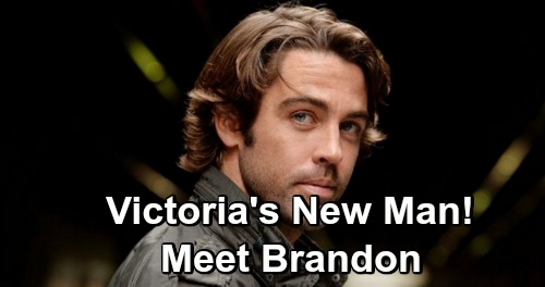 The Young and the Restless Spoilers: Mitch Eakins Debuts as Brandon, Victoria's New Boyfriend - First Look