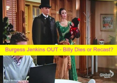 The Young and the Restless Spoilers: Burgess Jenkins OUT at Y&R - Billy Killed Off in Halloween Fire or Recast?
