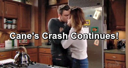 The Young and the Restless Spoilers: Cane's Slow Motion Crash Continues – Danger Ahead In New Year