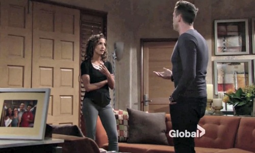 The Young and the Restless Spoilers: Lily Jealous of Sam's Hot Nanny, Decides She Wants Cane Back