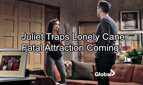 The Young and the Restless Spoilers: Juliet Seizes an Opportunity – Lonely Cane Falls for Her Tricks - Fatal Attraction Looms