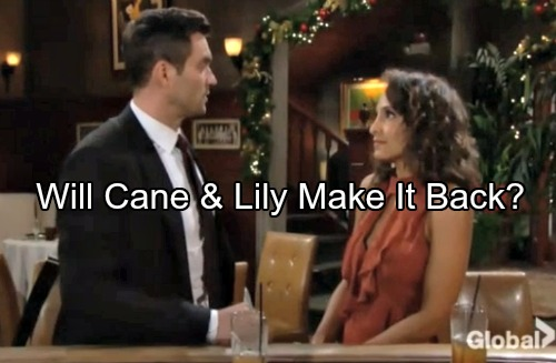 The Young and the Restless Spoilers: Cane and Lily Inch Closer – Lane's Revival Possible, But Not Certain