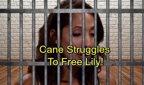 The Young and the Restless Spoilers: Cane Fights to Keep Lily Out of Prison – Devon's Vengeance Out of Control