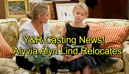 The Young and the Restless Spoilers: Casting News - Alyvia Alyn Lind Relocates - Y&R Hiring New Male Character