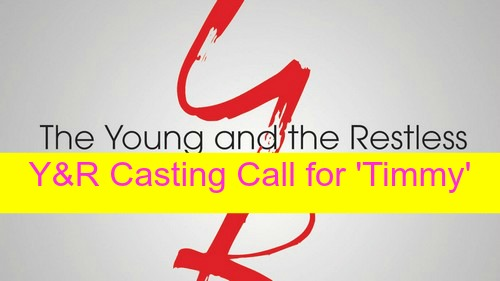 The Young and the Restless (Y&R) Spoilers: Casting Call for 'Timmy' - Victoria's Son Reed or Marisa's Child with Luca or Marco?
