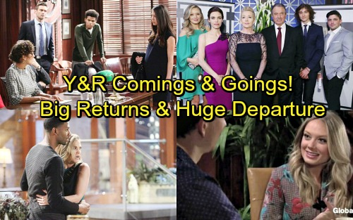 The Young and the Restless Spoilers: Casting News – Comings and Goings – Adam Newman Hints – Big Returns and Stunning Departure