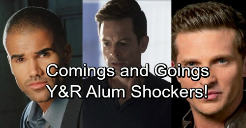 The Young and the Restless Spoilers: Casting News – Comings and Goings – Y&R Alum Shockers, Mysterious New Role