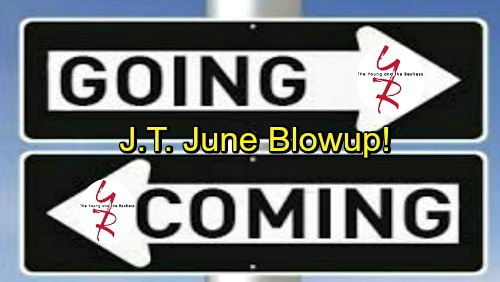 The Young and the Restless Spoilers: Comings and Goings – June Brings Returns and Legal Battles – J.T. Drama Explodes