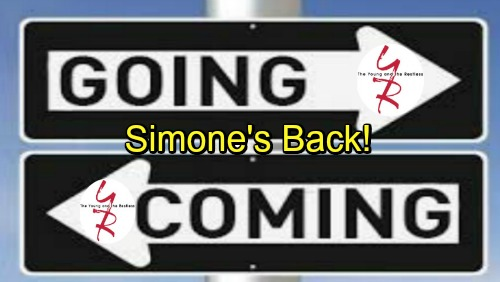 The Young and the Restless Spoilers: Comings and Goings – Simone's Back for Juicy 'Hevon' Drama – Other Hot Returns and Debuts