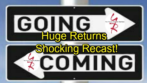 The Young and the Restless Spoilers: Comings and Goings – Fun Debuts, Huge Returns and a Shocking Recast