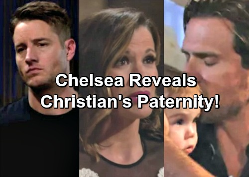 The Young and the Restless Spoilers: Chelsea Reveals Christian Paternity Secret Without Adam Newman Return – Nick Shocked