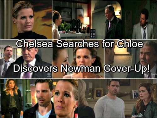 The Young and the Restless Spoilers: Chelsea Seeks Justice, Searches For Chloe - Discovers Newman Cover-Up of Victor's Guilt