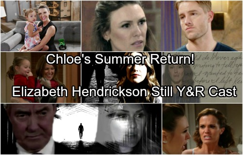 The Young and the Restless Spoilers: Chloe's Shocking Summer Return - Elizabeth Hendrickson Still Part of Y&R Cast