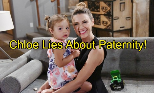 'The Young and the Restless' Spoilers: Chloe Hides Truth About Bella's Father - Chuck Pratt Hints At Paternity Reveal
