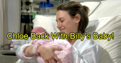 The Young and the Restless (Y&R) Spoilers: Chloe Returns With Billy's Baby – Furious Phyllis Gets Jealous