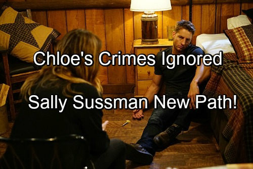 The Young and the Restless Spoilers: Sally Sussman Cancels Adam-related Drama – Chloe's Crimes Go Unpunished, Fallout Ignored